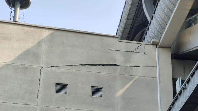 Hyderabad, Uppal Metro Station Develops Massive Cracks: Fact Check