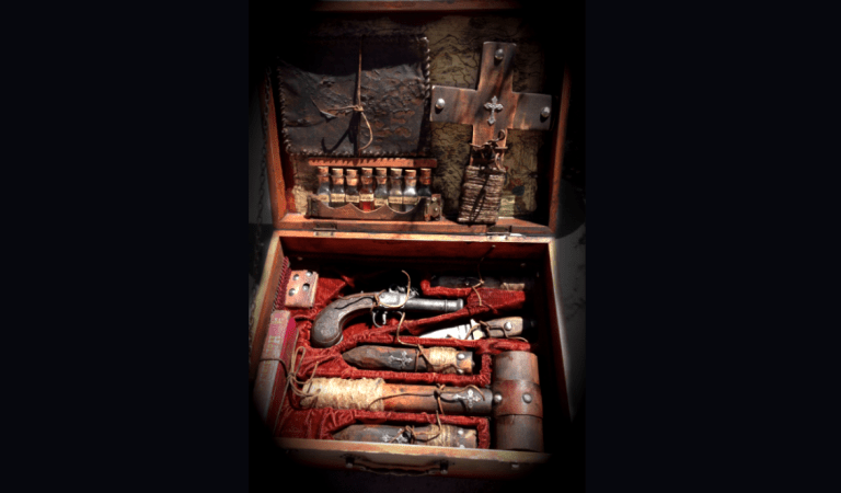 Incredible Vampire Hunting Kit from Early 1800s: Fact Check