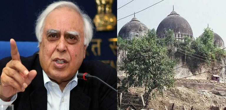 Kapil Sibal Opposing Building Ram Mandir in Ayodhya: Fact Check