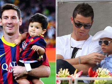 Image of Ronaldo-Messi & Their Sons Both Born 869 Days Apart