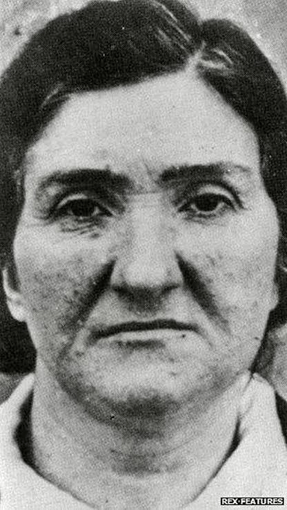 Image of Leonarda Cianciulli, the serial killer who turned her victims into soap & gave them to neighbors