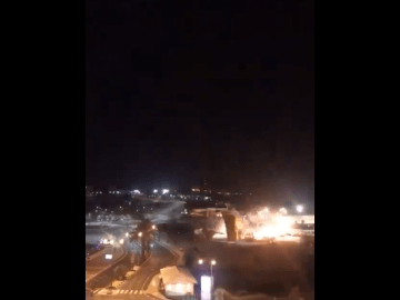 Image about Leaked Video of a Missile Hitting Iran Near US Embassy