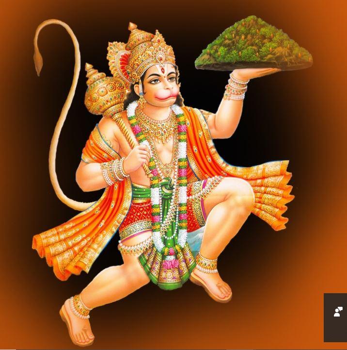 Image of Hindu Lord Hanuman