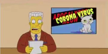 Image about A Simpsons Episode in 1993 Predicted Coronavirus Outbreak