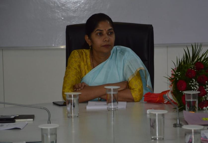 Image of IAS Officer and Managing Director of BMTC, C Shikha