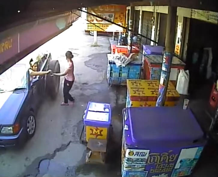 Image of Original image from the actual CCTV footage without any fire