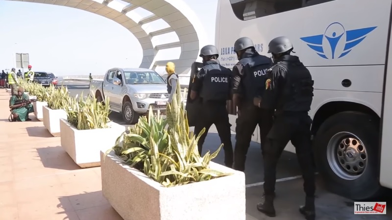 Image of Safety and security exercise event at the AIBD Airport