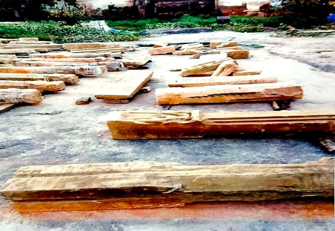 Image of Excavation of Hindu Idols, Structures and Shivalinga in Ayodhya