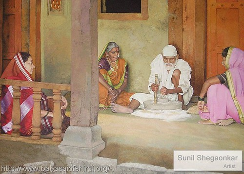 Original color photograph of the painting by artist Sunil Shegaonkar