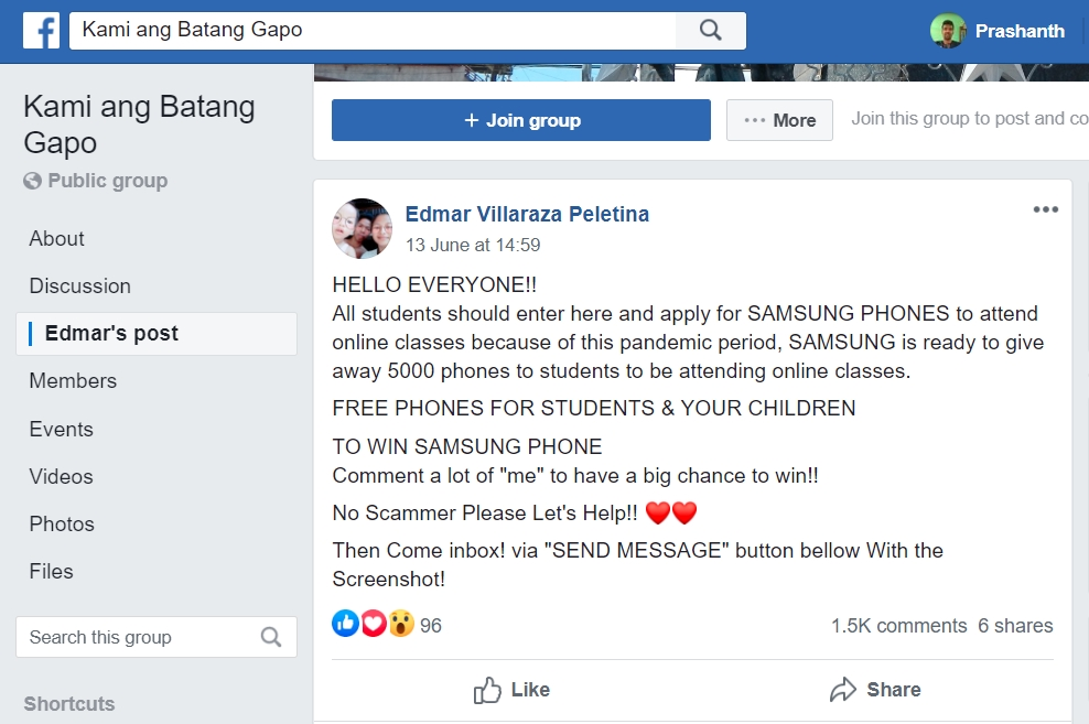 Image about Samsung Giving Phones to Students' Online Classes