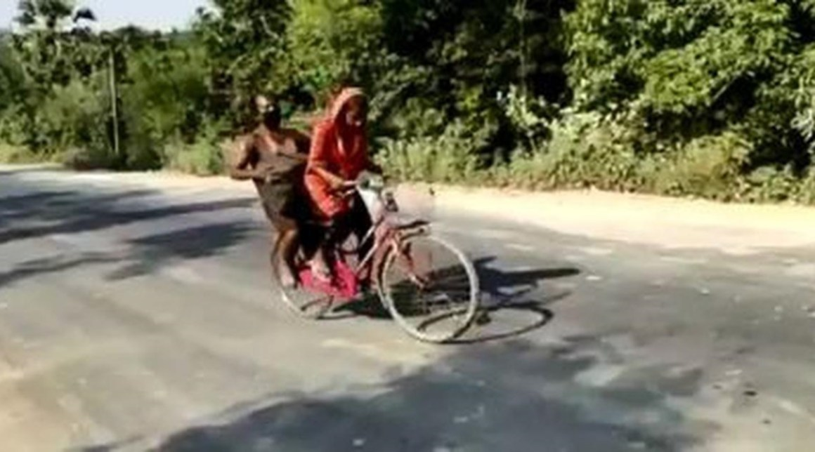 Image of Cycle Girl Jyoti Kumar Paswan