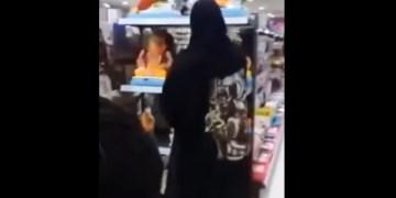 Image of Bahrain's Muslim Woman Breaks Hindu Ganesha Idols