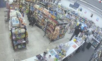 Image about Video of Failed Robbery Shoplifters Stop an Armed Robbery