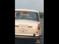 Image about Premier Padmini Car Runs on Highway Without Driver, Video