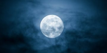 Image about Rare Blue Moon on 31 October, Wonder After 76 Years