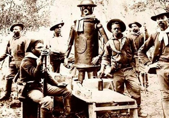 Photograph of World's First Robot: Fact Check