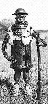 Image of Boilerplate, a fictional Robot