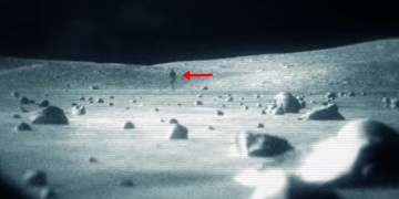 Image about Alien Found on Moon During Apollo 11 Mission, Video