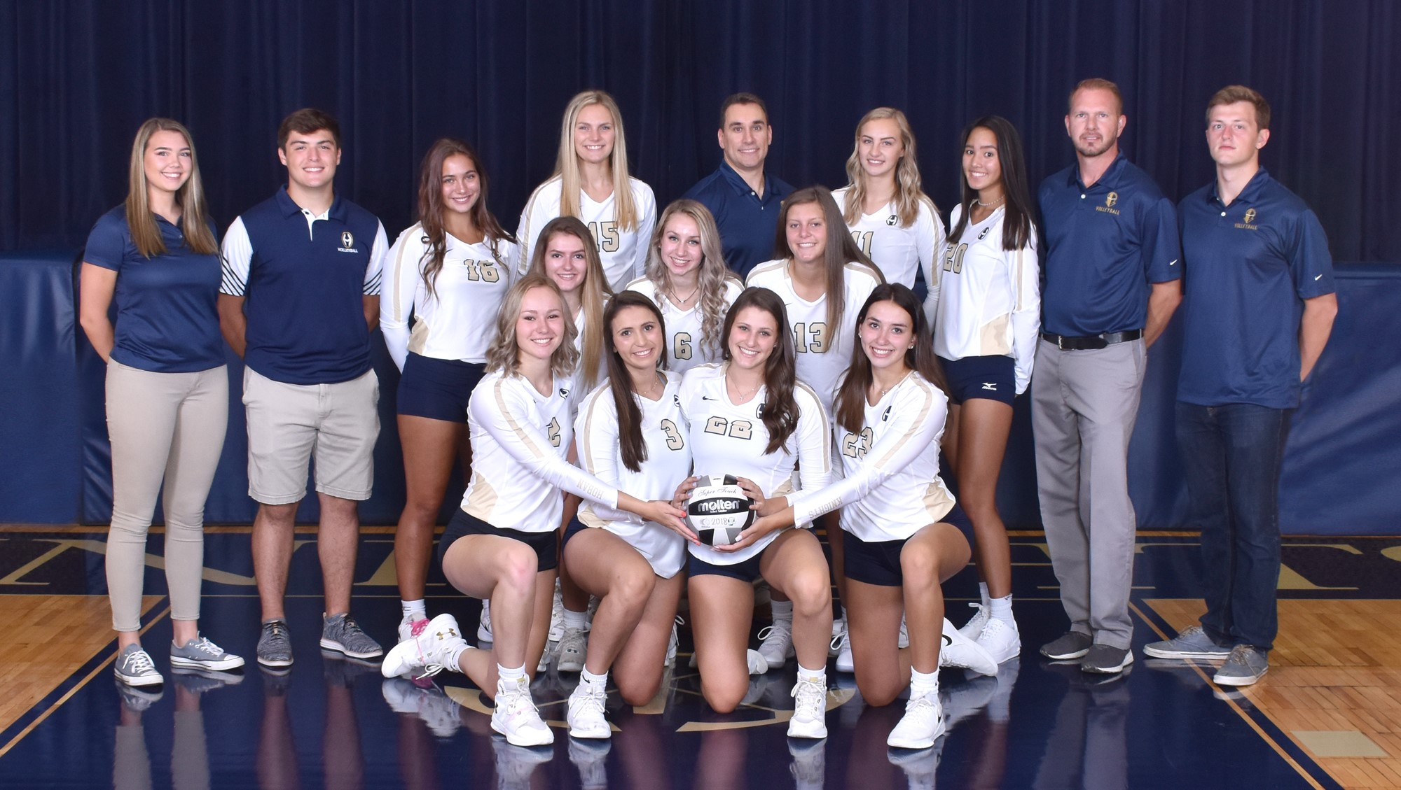 Catholic Girls Hudson Volleyball