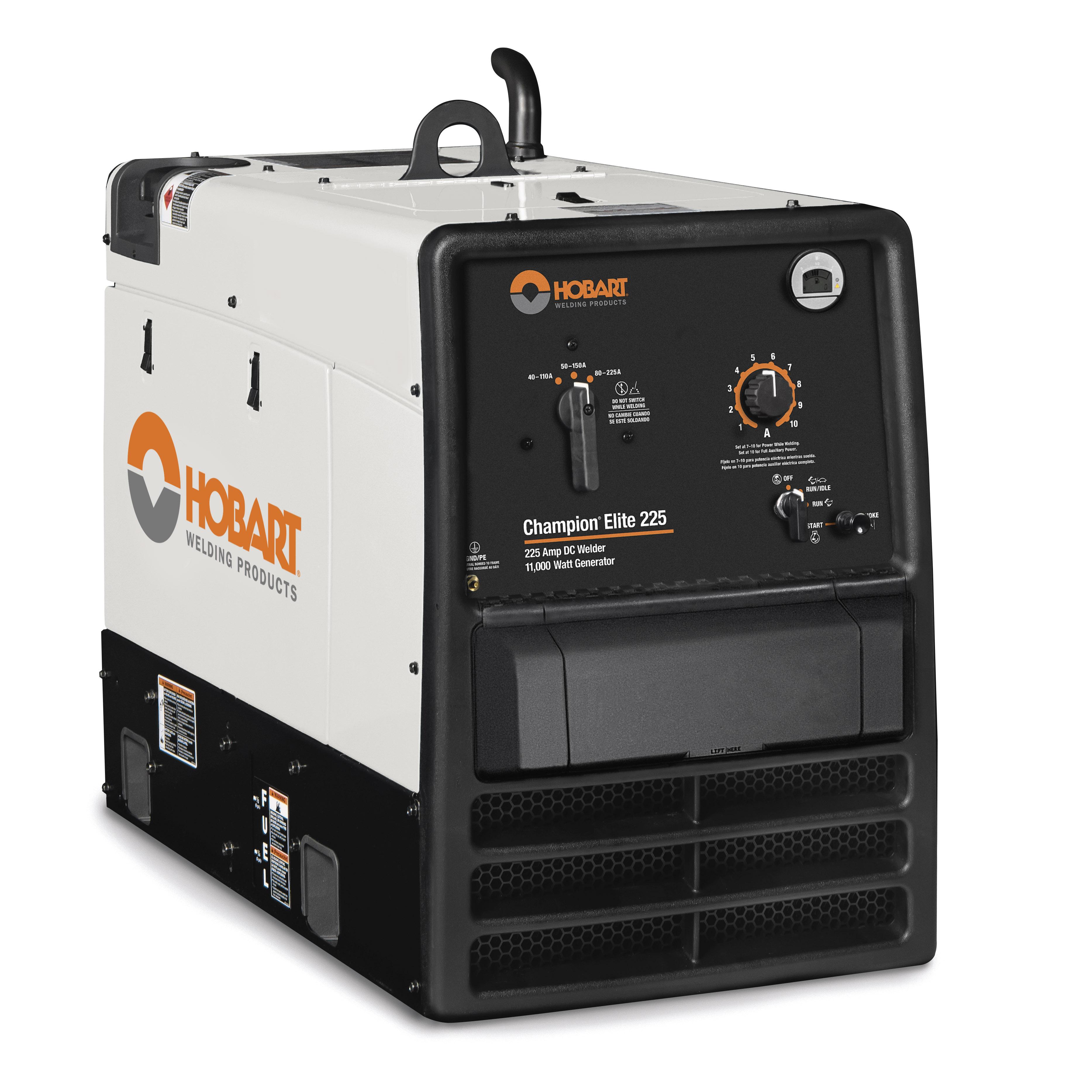 small resolution of hobart champion elite dc stick smaw welder generator