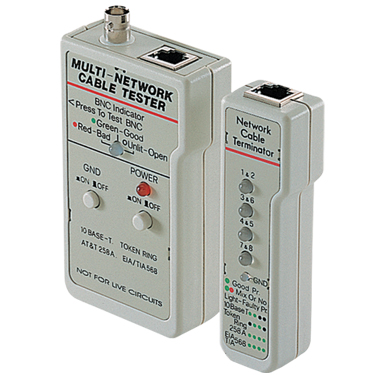 Multi Network Cable Tester RJ45 And BNC Basic Network