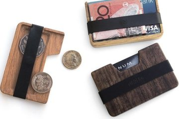 Poquito thin wooden wallet