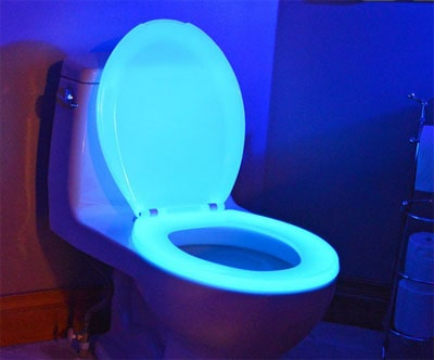 Night Glow glow in the dark toilet seat
