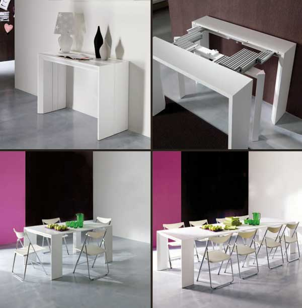 Console Dining Table Combo hobbr