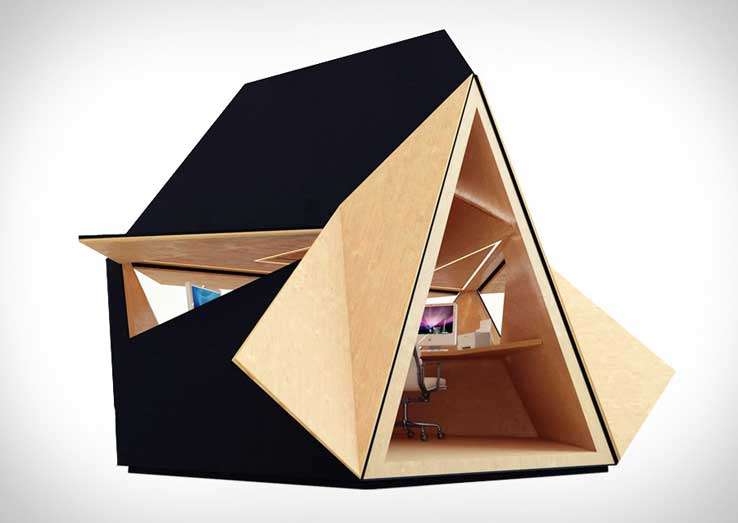 Tetra shed garden office