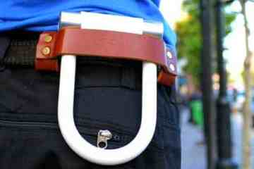 Ulock bicycle lock holster