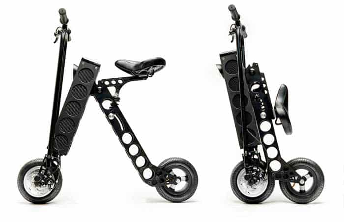 URB-E compact foldable electric bike
