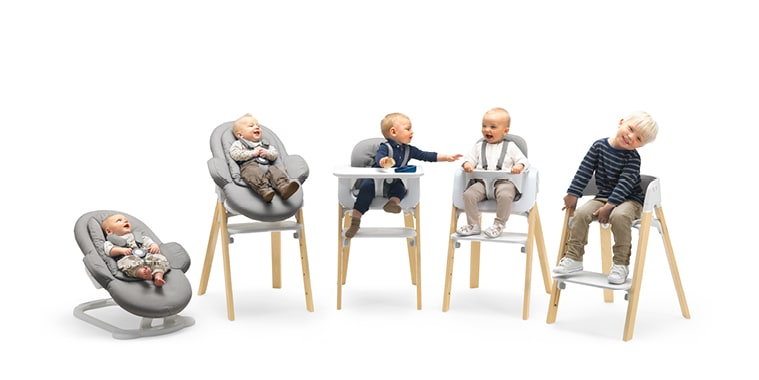 Stokke Steps modular seating system