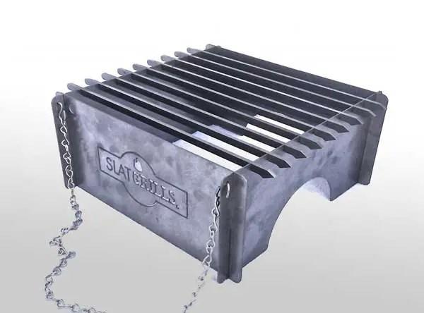 Slatgrill portable grill