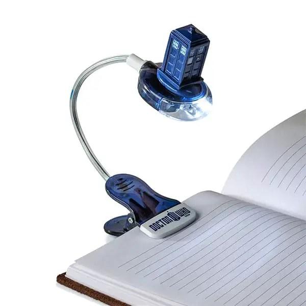 Tardis Book Light