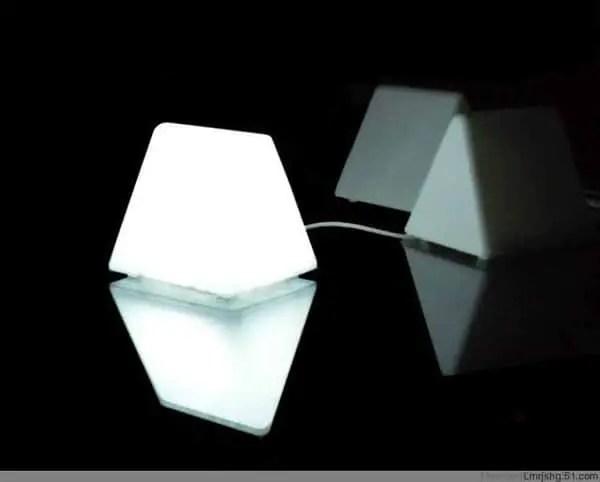 LED Sensor Bookmark Night Light Lamp