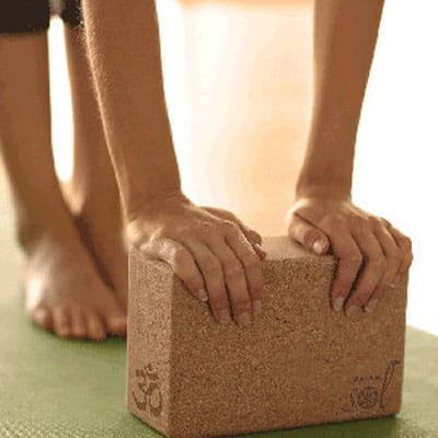 Cork-Yoga-Block