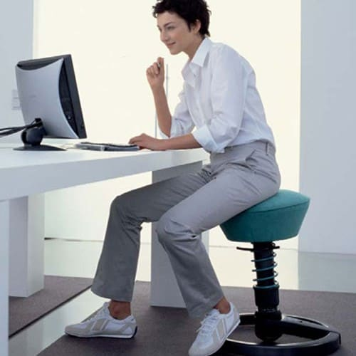 desk chair leans forward captain chairs for dining room 17 best active sitting better posture productivity and health