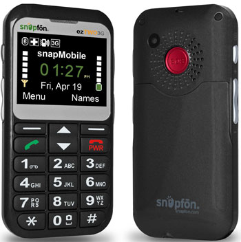 Snapfon-Senior-Cell-Phone