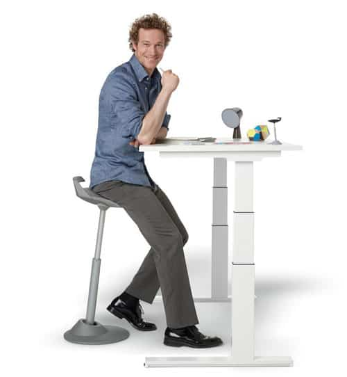11. Muvman Sit-Stand Stool  sc 1 st  hobbr & 15 Best Active Sitting Chairs For Better Posture Productivity And ...