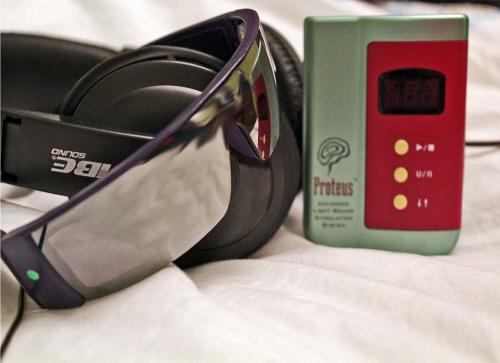 Proteus Light and Sound Stimulation System