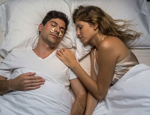 Silent Partner lightweight anti-snoring device
