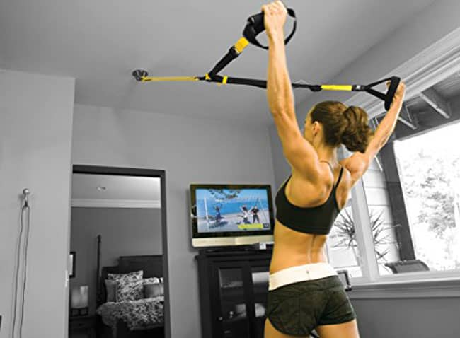 TRX travel suspension training set