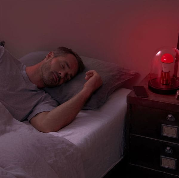 This sleep companion gives off cold blue light to wake you up in the morning and warm reddish light to help you sleep at night u2013 but a lot of products on ... & Best Light Bulbs For Soundly Falling Asleep At Bedtime u2013 hobbr