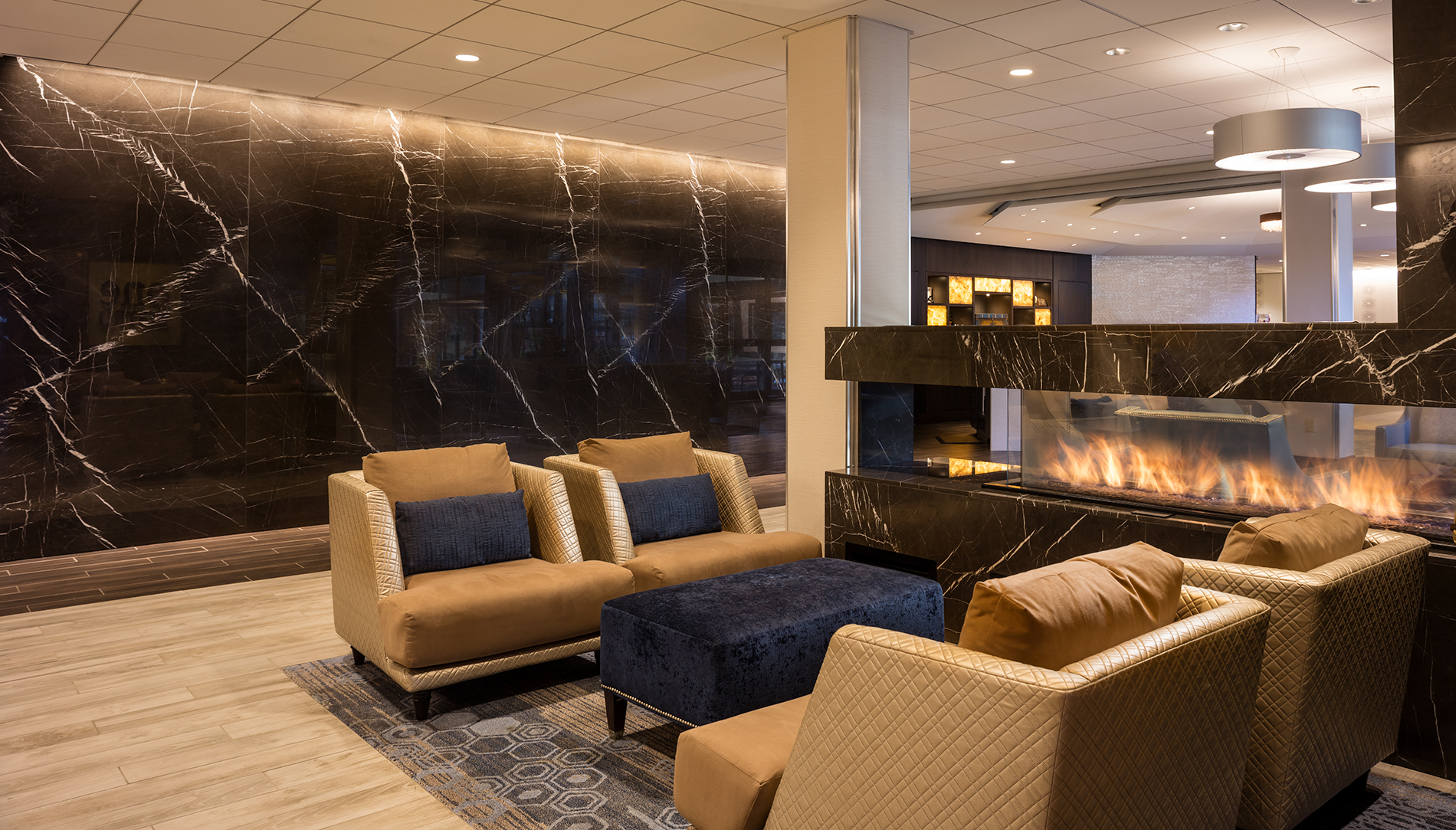 Four Points by Sheraton Norwood Announces Completion of Hotel Lobby Renovation  Hobbs Brook