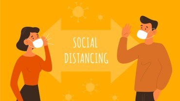 following social distancing