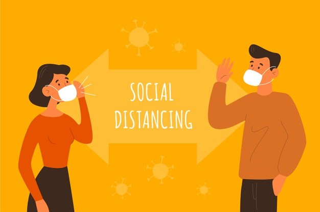 following social distancing