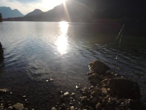 Beste Gewässer zum Fischen auf Seesaiblinge in Deutschland ist der Tegernsee, Walchensee und Starnbergersee.