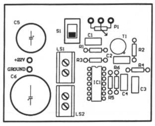 Intercommunication (Intercom) circuit diagram and instructions