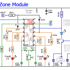 Fire Alarm Control Panel Wiring Diagram Delco Alternator External Regulator Schematic And Source An Expandable Multi Zone Modular Burglar Circuit Switch Symbol Electrical Further