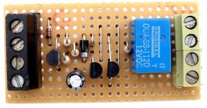 A Transistor Based Motorcycle Alarm circuit diagram and